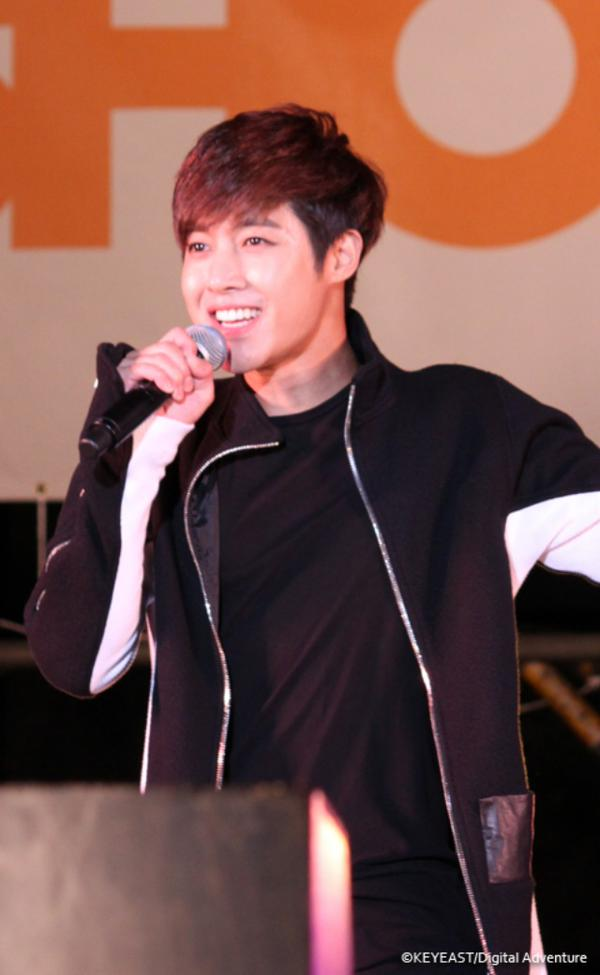 Kim Hyun Joong - Update Japanese Mobile Site - 14.11.21