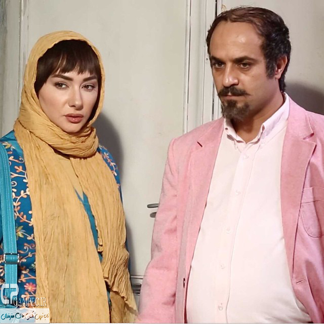 احمد مهران فر و هانیه توسلی در سریال ابله