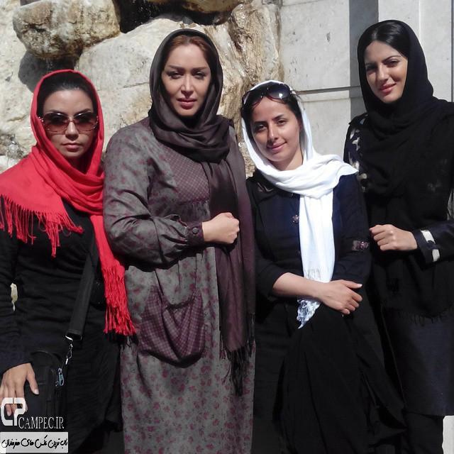 عکس جدید هلیا امامی و سارا منجزی