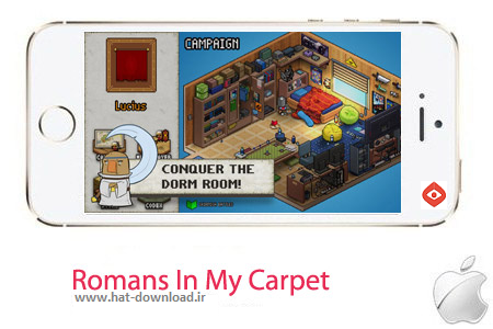 Romans In My Carpet 1.02 بازی سرزمین رومی ها Romans In My Carpet 1.02 – آیفون ، آیپد و آیپاد