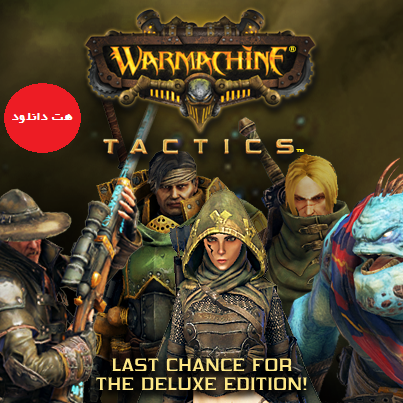 Warmachine Tactics pc cover دانلود بازی WARMACHINE Tactics برای PC