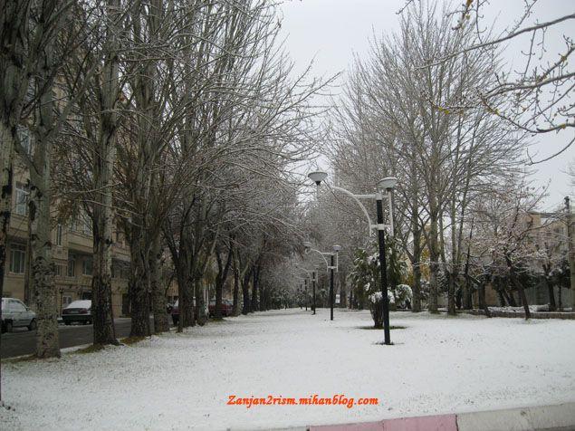 برف پائیزی