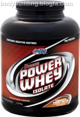 Biox Power Whey Isolate,مکمل بدنسازی