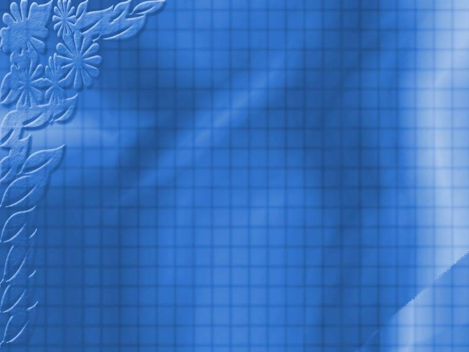 قالب پاورپوینت ساده گل آبی