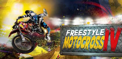 دانلود بازی موتور سواری Freestyle Motocross IV FULL v1.0.38 اندروید