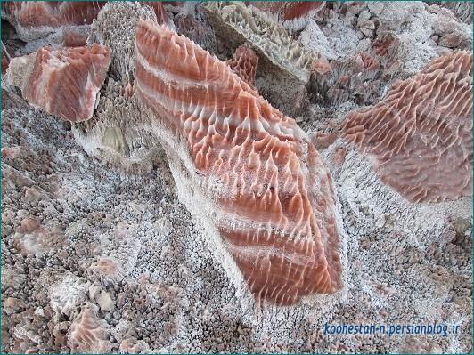 سنگ نمک - معدن متروکه گرمسار