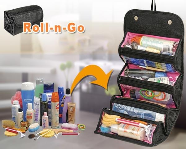 خرید کیف لوازم آرایش رولی roll-n-go