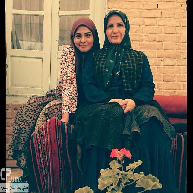 عکس جدید سیما خضرآبادی و زهرا سعیدی