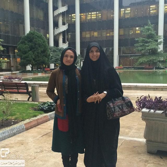عکس جدید گلاره عباسی و مژده لواسانی