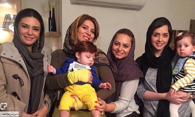 عکس جدید سحر دولتشاهی و لیندا کیانی و ترانه علیدوستی