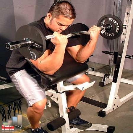 آموزش حرکت جلو بازو لاری همراه تصویر