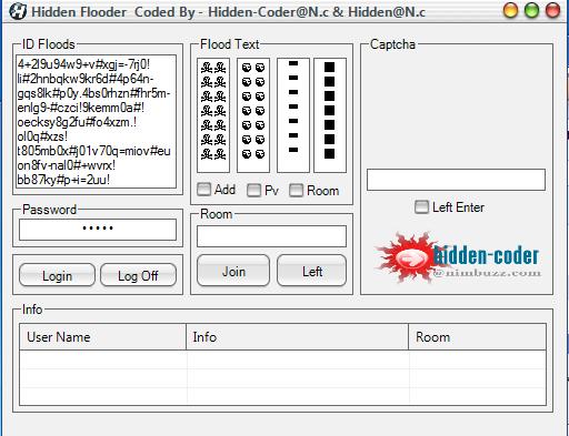 Hidden Flooder Hidden12345