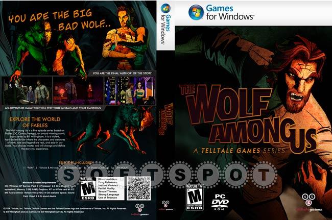 کاور The Wolf Among Us