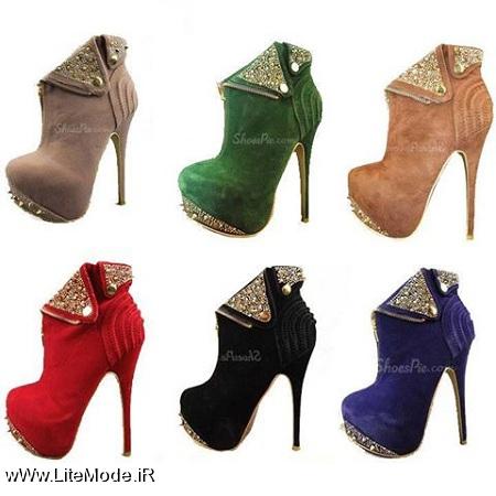 مدل کفش پاشنه بلند,مدل کفش مجلسی زنانه 2015