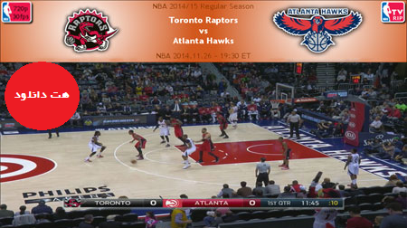 NBA.2014.11.26.Hawks.Raptors.Cover دانلود مسابقات ان بی ای – NBA 2014.11.26 Toronto Raptors Vs Atlanta Hawks