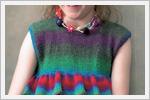لباس بافتنی برای دختربچه ها