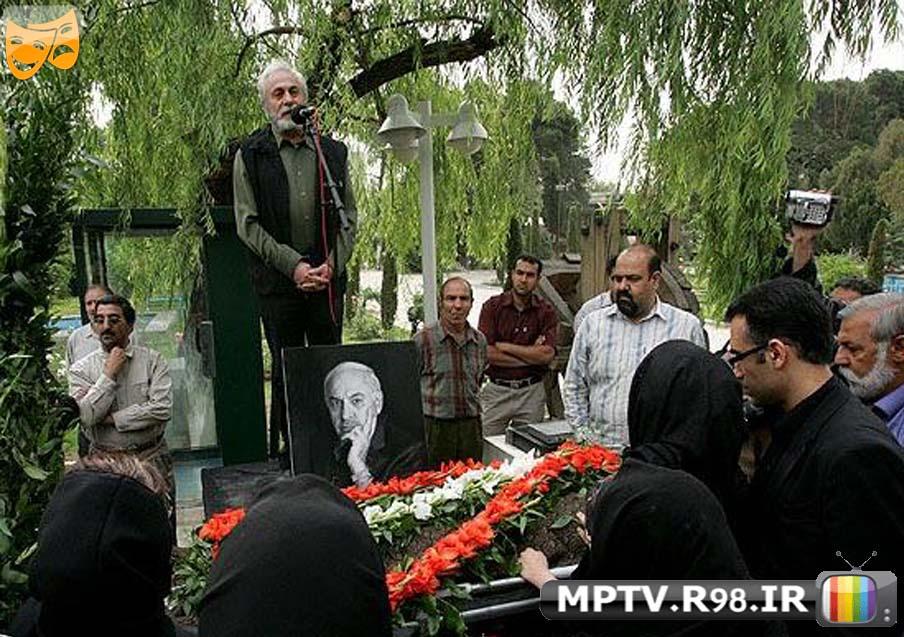 عکس مراسم خاک سپاری مرحوم اسمائل داورفر