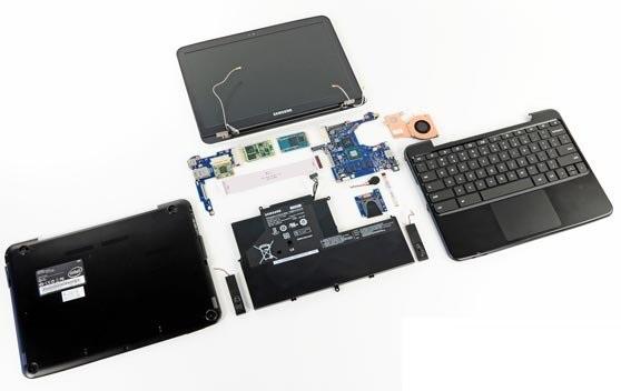 آشنایی با  تمام قطعات لپ تاپ