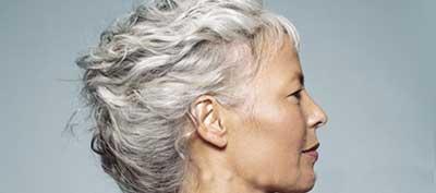سفیدشدن موها,جلوگیری از سفید شدن موها ,دلیل سفید شدن موها