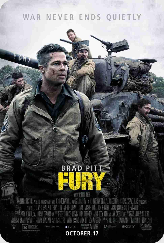 فیلم fury 2014