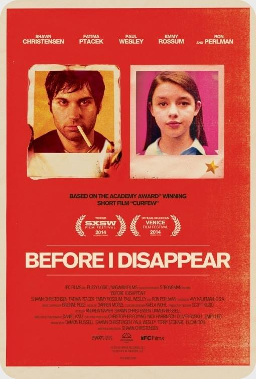 فیلم Before I Disappear 2014