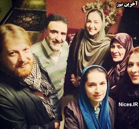 هانیه توسلی و مصطفی تاجزاده