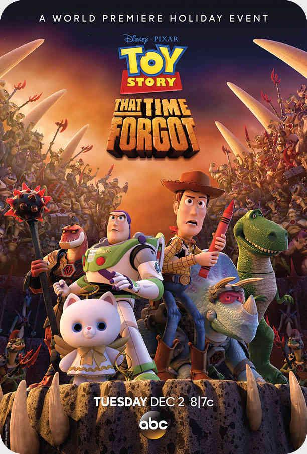 انیمیشن Toy Story-That Time Forgot 2014