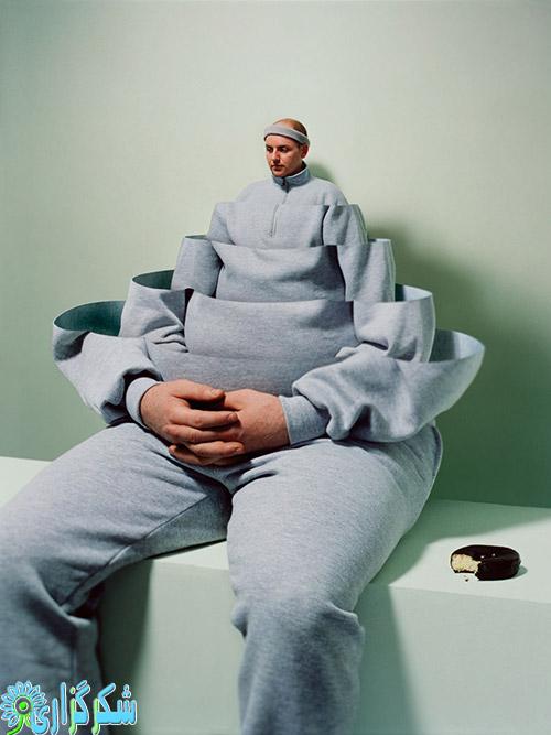 چاق شدن - لاغری رژیم ورزش لاغری - چاقی صورت - شکرگزاری - تناسب اندام