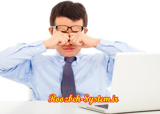 کامپیوتر چشم را ضعیف نمیکند؛ روش های جلوگیری از خستگی چشم