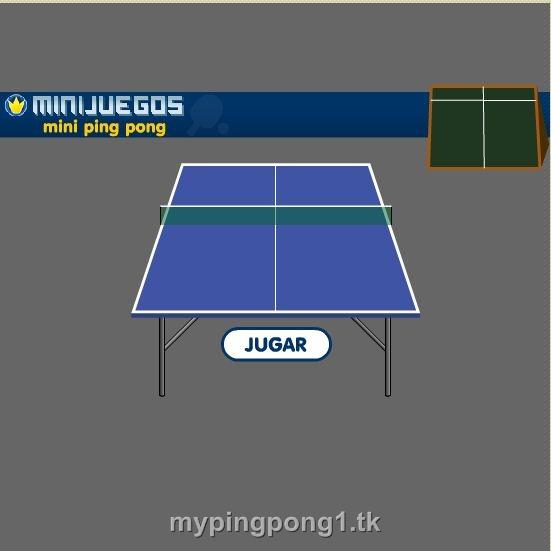 بازی حرفه ای تنیس روی میز(در سایت بازی کنید.)