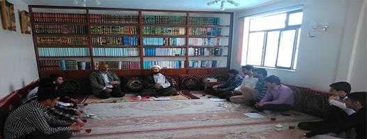 ديدار با امام جمعه محترم
