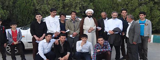 دیدار با جانبازان به همراه امام جمعه در اردبیل