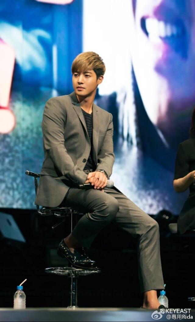[Photo] Kim Hyun Joong - Japan Mobile Site Update [14.12.05]