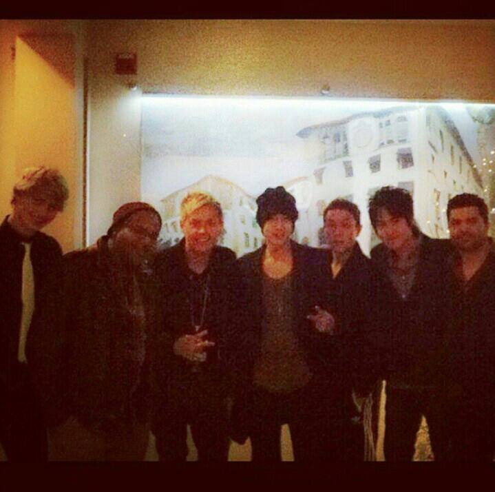 Kim Hyun Joong - Update Instagram Steven Lee (KHJ In LA) - 14.12.04