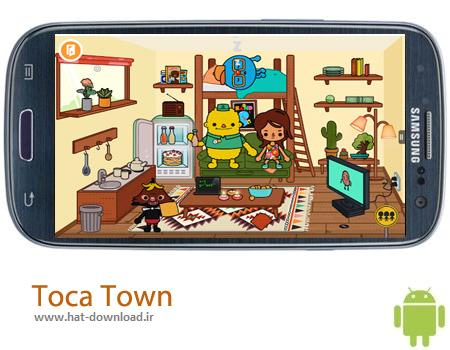 Toca Town v1.0 بازی کودکانه Toca Town v1.0 – اندروید