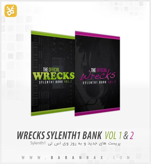 دانلود پریست سیلنت The Official Wrecks Sylenth1 Bank Vol 1 & 2