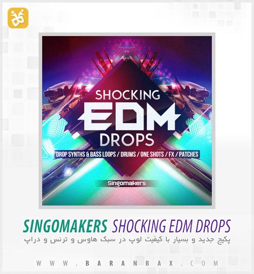 دانلود پکیج سمپل و لوپ Singomakers Shocking EDM Drops