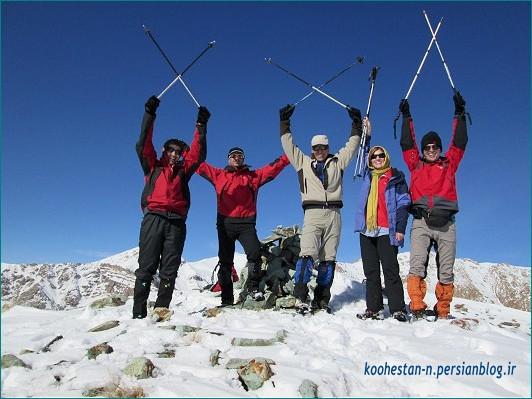 گروه نشاط زندگی - قله استرچال