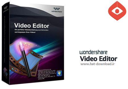 Wondershare%20Video%20Editor%204.0.1 نرم افزار ویرایش فایل های ویدئویی Wondershare Video Editor 4.0.1