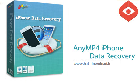AnyMP4 iPhone Data Recovery 7.2.6.27103 نرم افزار بازیابی اطلاعات آیفون AnyMP4 iPhone Data Recovery 7.2.6.27103
