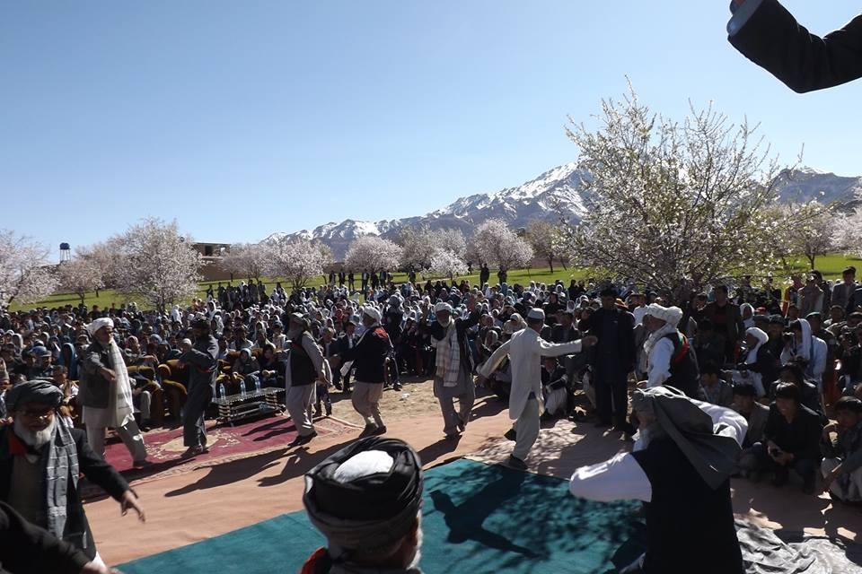 گزارش تصویری جشن فرهنگی گل بادام از سرزمین دلیر مردان(دایکندی)