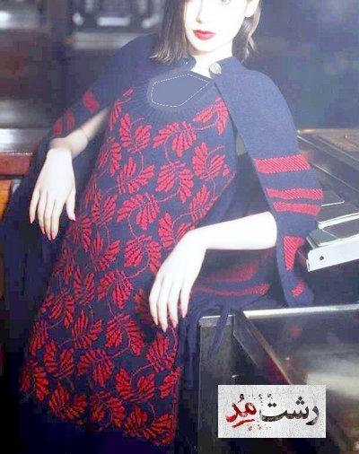 دانلود عکسهای جدید مدل لباس شیم مجلسی بافتنی زنانه