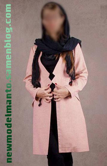 مدل مانتو پاییزه زمستانه بلند زنانه دخترانه 2015