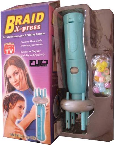دستگاه بافت مو آفریقاییBraid X-press