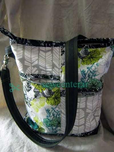 آموزش گام به گام تصویری دوخت کیف دستی شیک زنانه