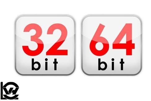 تفاوت  معماری پردازنده های 32 و 64 بیتی (ویندوز 32 بیتی یا 64 بیتی)