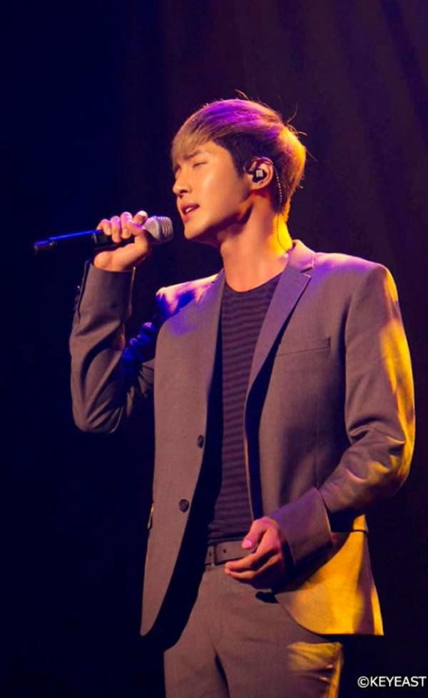 [Photo] Kim Hyun Joong - Japan Mobile Site Update [14.12.08]