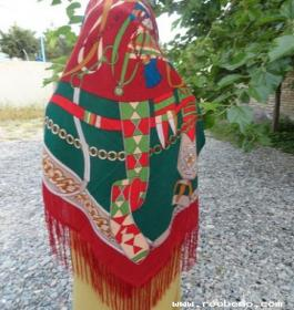 روسری ترکمنی | شال و روسری زنانه