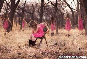 عکس عاشقانه تنهایی دختر