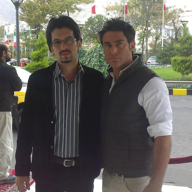 عکس محمدرضا گلزار با طرفداران